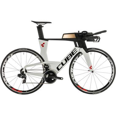 Vélo de Triathlon CUBE AERIUM C:68 SL LOW Sram Force eTap AXS 35/48 Gris/Noir 2020